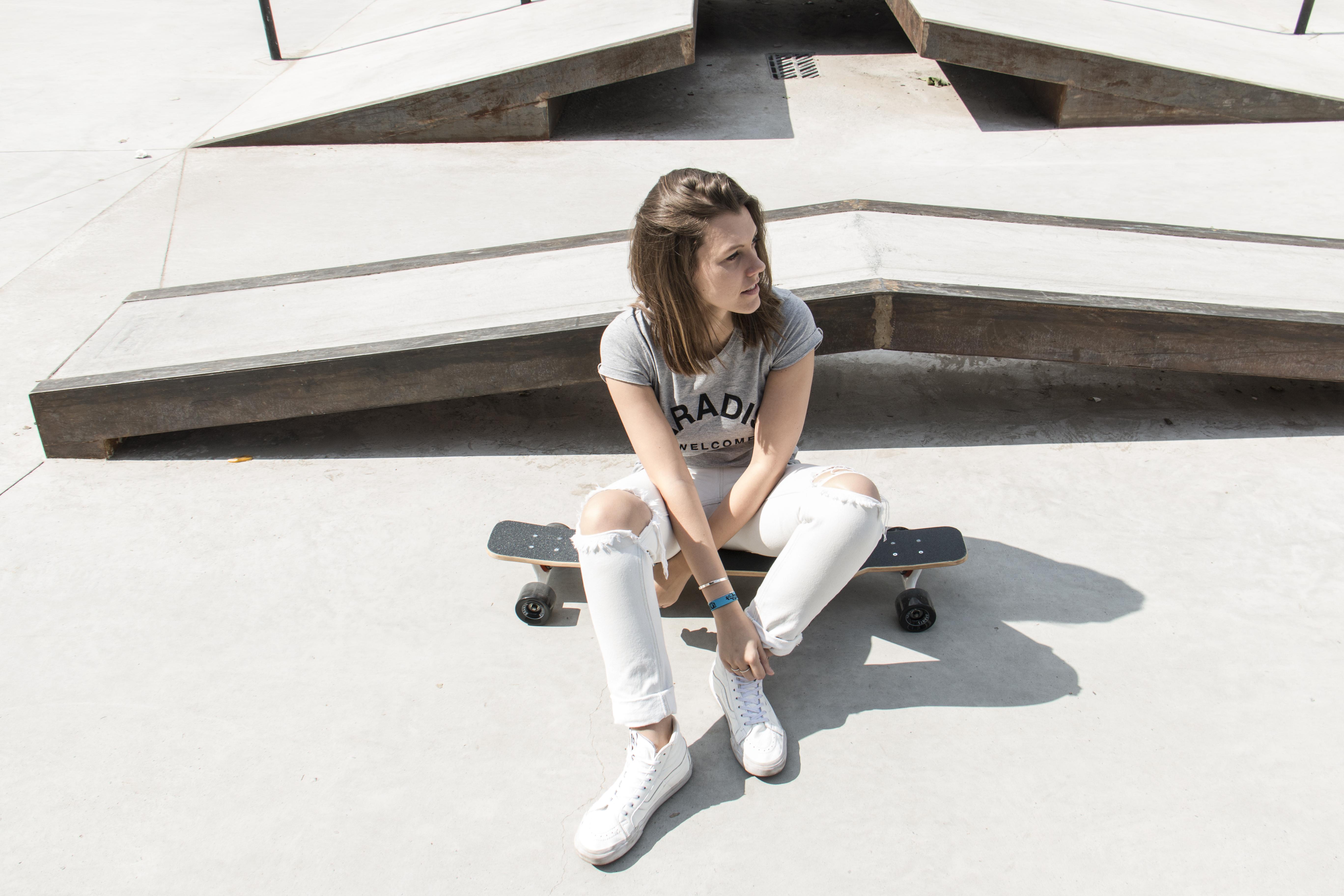 Céline Radelet x Longboarding